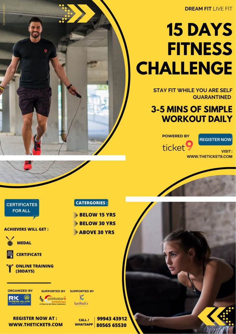 Fitness event by RK fitness Village