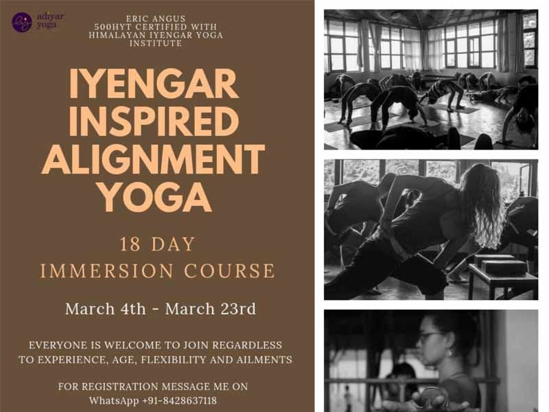 IYENGAR INSPIRED ALIGNMENT YOGA- IMMERSION COUSE