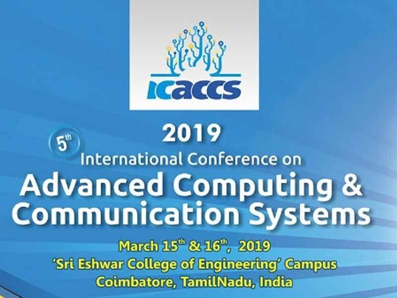 ICACCS 2019