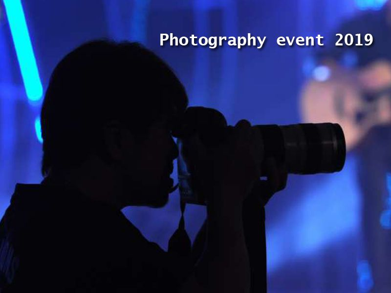 Upcoming Photography events 2019