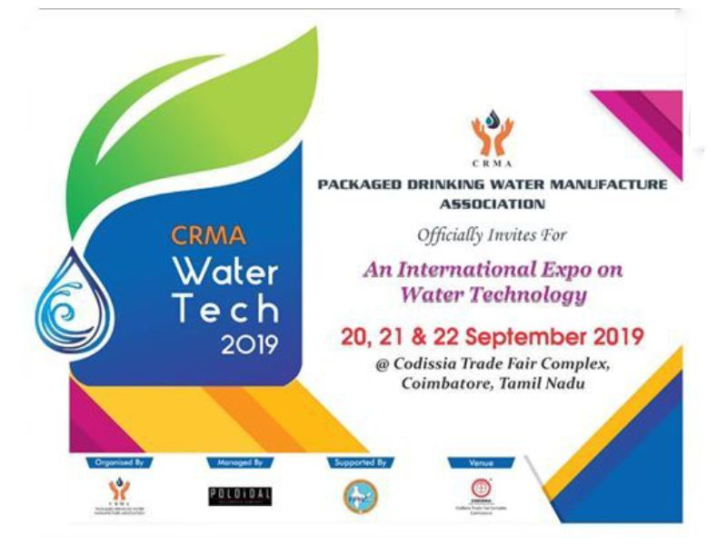 CRMA WATER TECH 2019 | Codissia Trade Fair