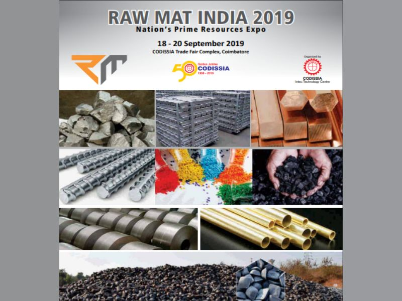 RAW MAT INDIA 2019 Trade Fair