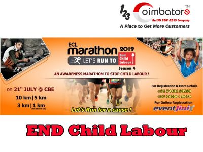Coimbatore Marathon Event 2019 | ECL, RCM, MM, Run for Wheel Marathon Informations