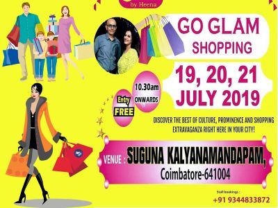 GO Glam Shopping 2019 in Kovai!!!