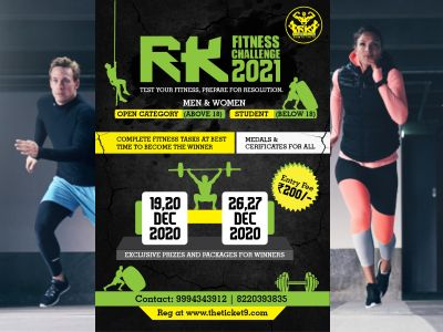 RK Fitness Challenge 2021
