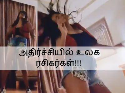 மீரா மிதுனுக்குள் மைக்கேல் ஜாக்சன் ஆவி!