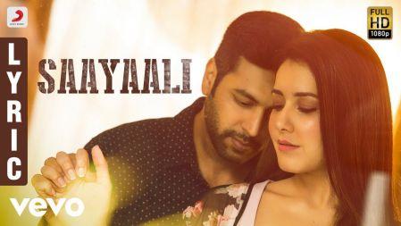 Adanga Maru - Saayaali Video Tamil | Jayam Ravi, Raashi Khanna | Sam CS