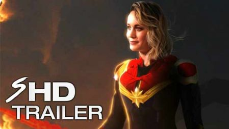 CAPTAIN MARVEL (2019) | Full Movie Trailer in Full HD | 1080p