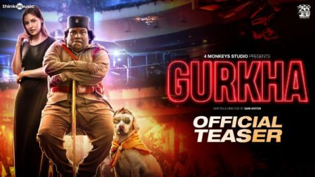 Gurkha Movie Official Teaser   Yogi Babu   Anandraj   Sam Anton, Raj Aryan