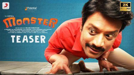Monster Movie Official Teaser | Tamil |SJ Suryah, Priya Bhavani |