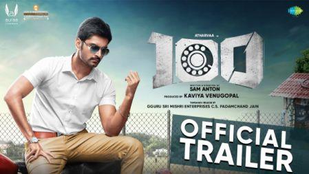 100 Movie Official Trailer  Atharvaa , Hansika Motwani   Sam Anton  