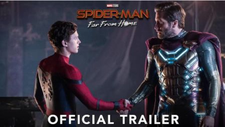 SPIDER MAN Official Trailer  FAR FROM HOME  Jake Gyllenhaal, Marisa Tomei  