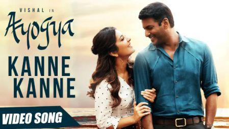 Ayogya - Kanne Kanne  Video Song | Vishal, Raashi Khanna | Anirudh Ravichander|