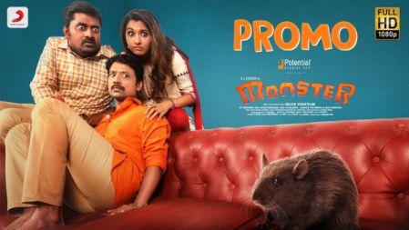 Monster Movie  Official Promo |2019| SJ Suryah, Priya BhavaniShankar | Justin Prabhakaran