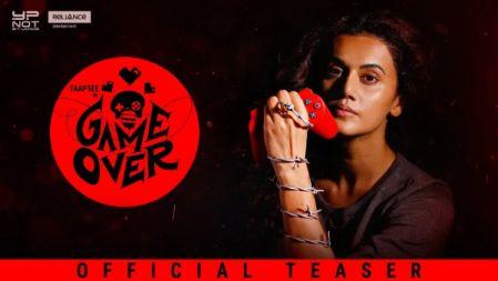 Game Over Movie Official Teaser |2019| Taapsee Pannu | Ashwin Saravanan |