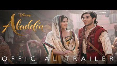 Disney -  Aladdin Movie Official Trailer |English |