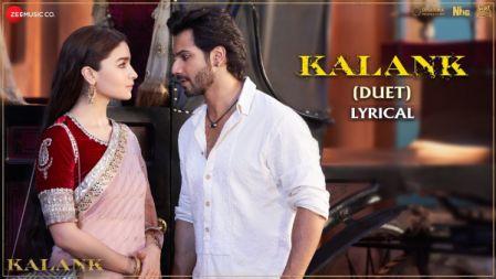 Kalank Lyrical video | Kalank | Varun, Alia & Madhuri | Arijit Singh & Shilpa Rao | Pritam