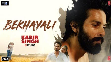 Bekhayali | Kabir Singh |Shahid Kapoor,Kiara Advani | Sandeep Reddy Vanga |