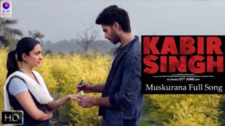 Kabir Singh  - Muskurana  Song Video Song |Shahid Kapoor | Kiara Advani |
