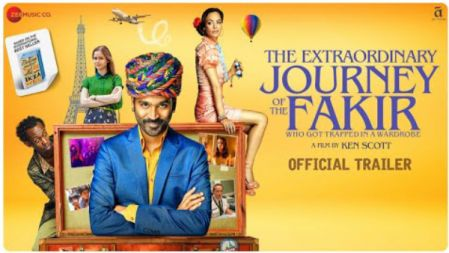The Extraordinary Journey Of The Fakir Movie Official trailer | Dhanush | Ken Scott |
