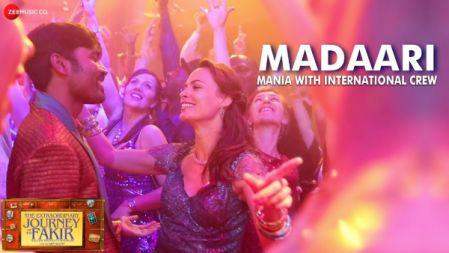 The Extraordinary Journey Of The Fakir - Madaari Mania With International Crew Making |Dhanush