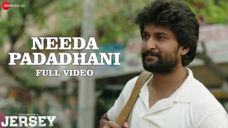 Jersey - Needa Padadhani  Full Video Song |Nani, Shraddha Srinath | Anirudh Ravichander |