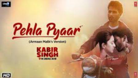 Pehla Pyaar | Kabir Singh | Shahid Kapoor, Kiara | Armaan Malik | Vishal Mishra