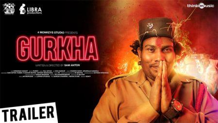 Gurkha Official Trailer   Yogi Babu, Anandraj, Elyssa Erhardt   Raj Aryan   Sam Anton
