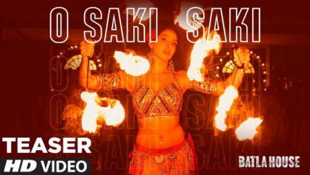 O SAKI SAKI Song Teaser |Batla House |Nora Fatehi, Tanishk B | Neha K, Tulsi Kumar
