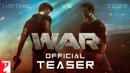 War Movie Official Teaser | Hrithik Roshan | Tiger Shroff | Vaani Kapoor |