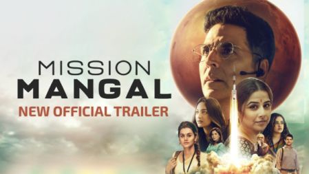 Mission Mangal Movie  Official Trailer | Akshay, Vidya | Sonakshi, Taapsee |