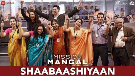 Mission Mangal - Shaabaashiyaan Video |Akshay | Vidya | Sonakshi |Taapsee|