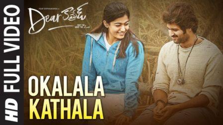 O Kalala Kathala Video Song |Dear Comrade |Vijay Deverakonda |Rashmika