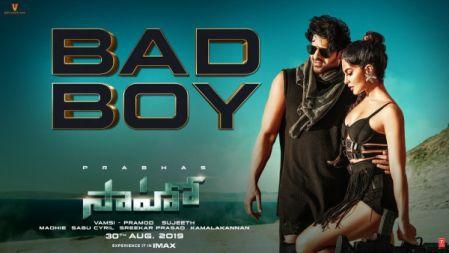 Bad Boy Song | Saaho | Prabhas, Jacqueline Fernandez | Badshah