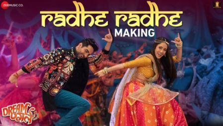 Dream Girl -  Radhe Radhe Making |Ayushmann Khurrana | Nushrat Bharucha