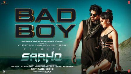 Bad Boy Song - Saaho |Prabhas, Jacqueline Fernandez | Badshah