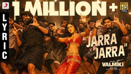 Jarra Jarra Telugu Lyrical Song |Valmiki  |Varun Tej, Atharvaa | Harish Shankar. S |