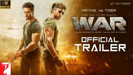 War Movie | Official 4K Trailer | Hrithik Roshan | Tiger Shroff | Vaani Kapoor