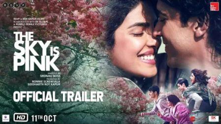 The Sky Is Pink ovie  Trailer   Priyanka C J, Farhan A   Zaira W, Rohit S   Shonali B  