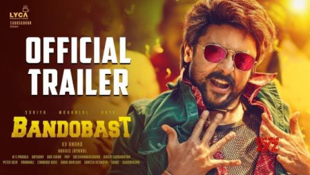 Bandobast Movie Official Trailer | Suriya, Mohan Lal, Arya | K V Anand | Harris Jayaraj |