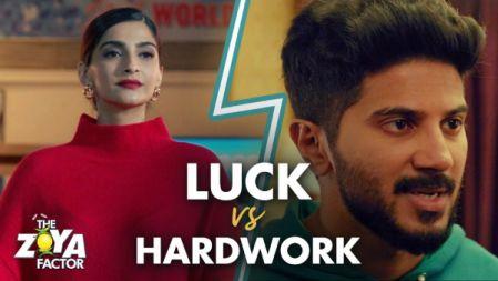 Luck V/S Hard Work - The Zoya Factor |Sonam Kapoor | Dulquer Salmaan