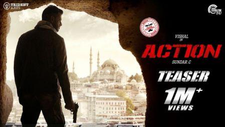 Action Movie Official Teaser | Vishal, Tamannaah | Hiphop Tamizha | Sundar.C |