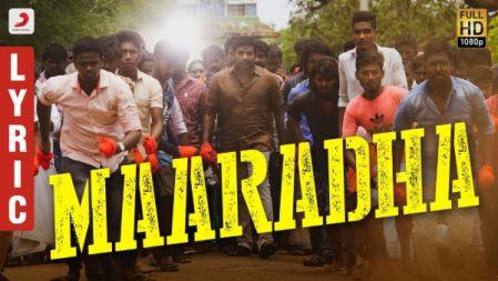 Sangathamizhan Movie  - Maaradha Lyric video Song | Vijay Sethupathi, Raashi Khanna | Vivek-Mervin | Vijay Chandar