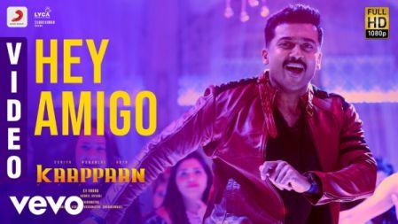 Hey Amigo Video Song - Kaappaan |Suriya, Sayyeshaa | Harris Jayaraj |
