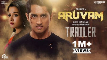 Aruvam Movie Official Trailer |HD| Siddharth, Catherine Tresa | SS Thaman |