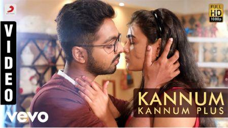 Kannum Kannum Plus Video | 100% Kaadhal |G.V. Prakash Kumar, Shalini Pandey