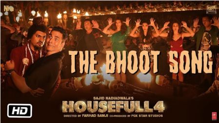 The Bhoot Song | Housefull 4 |Akshay Kumar, Nawazuddin Siddiqui