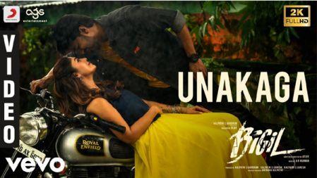 Unakaga Video Song - Bigil | Thalapathy Vijay, Nayanthara | A.R Rahman