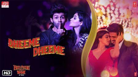 Dheeme Dheeme Video Song | Pati Patni Aur Woh |Kartik A, Bhumi P, Ananya P