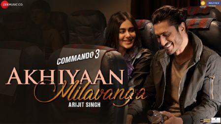 Commando 3 - Akhiyaan Milavanga Video Song|Vidyut Jammwal, Adah Sharma